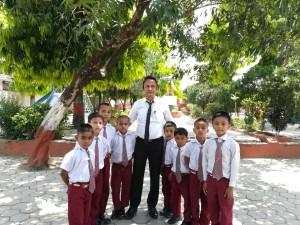 Onze kids in Chitwan